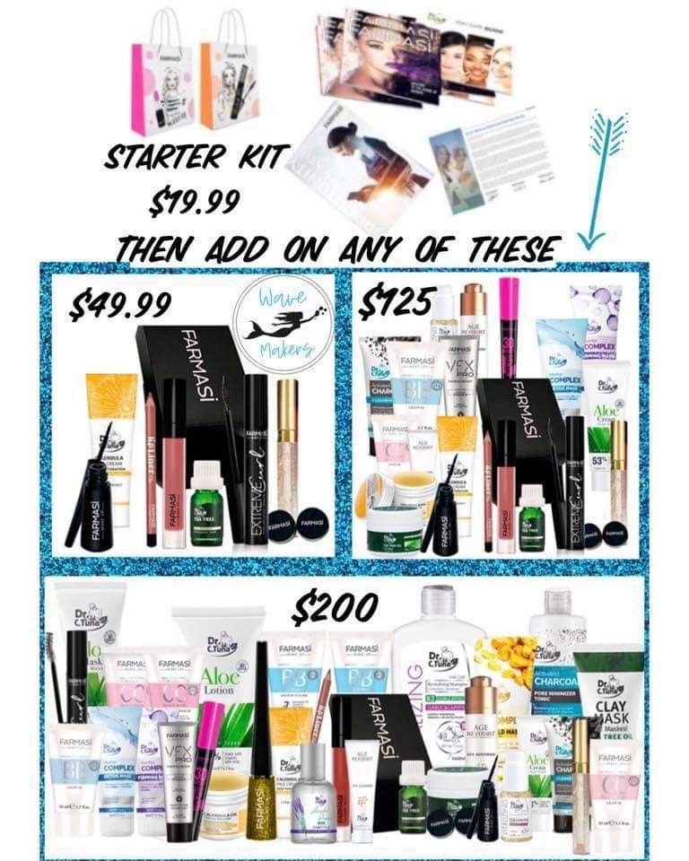 FARMASI💖 👉🏻Only 19.99 to join! 👉🏻3 amazing kits to choose