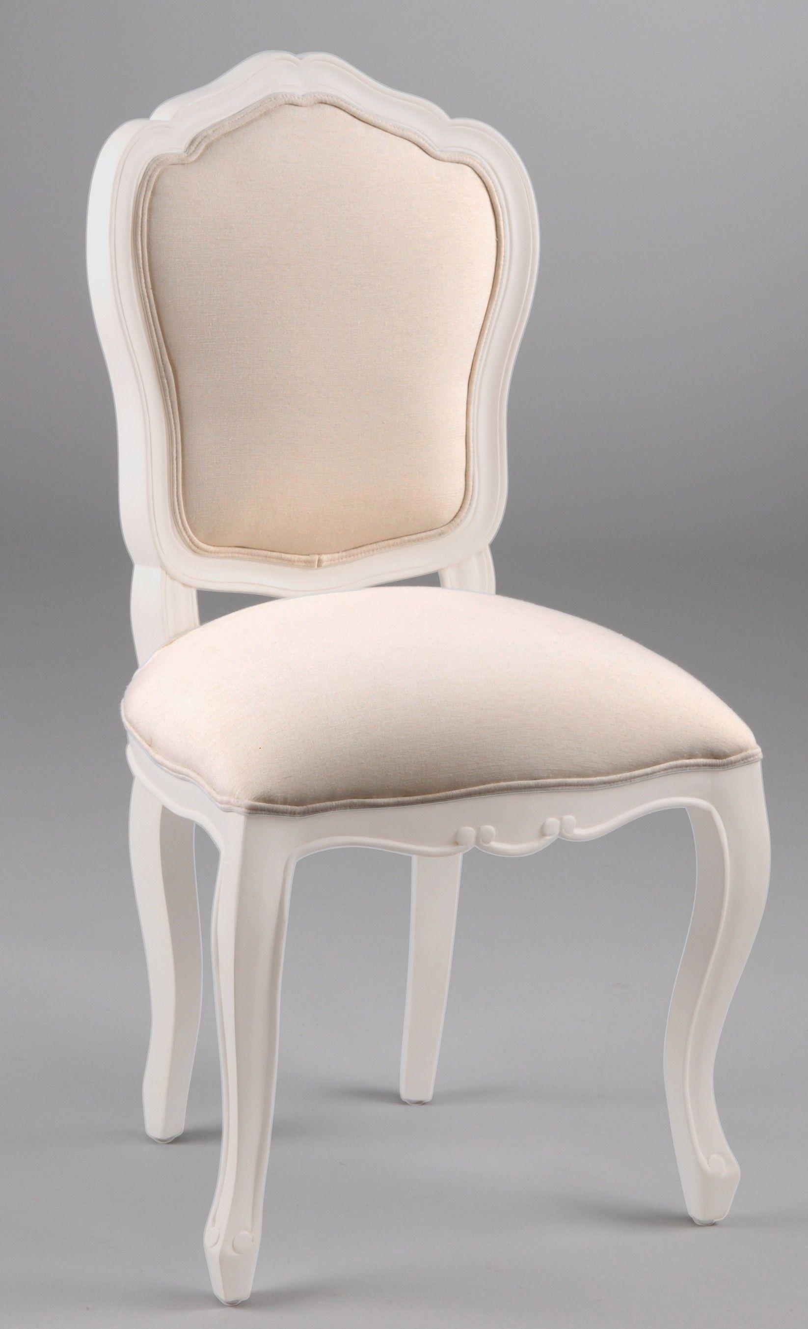chaise louis xv baroque romantique bois