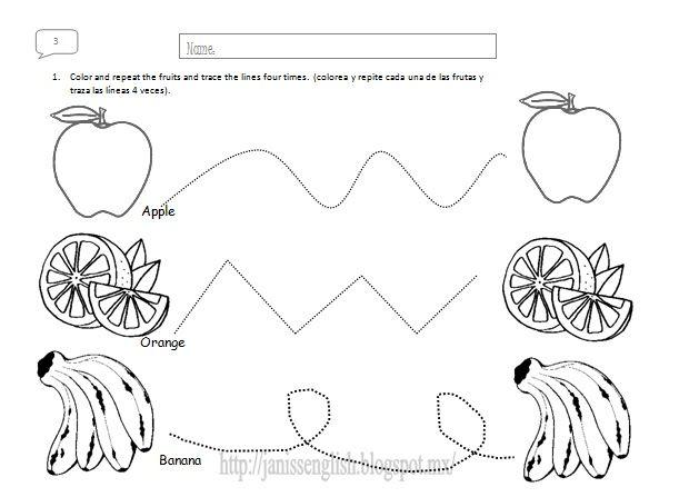 actividades de las frutas para preescolar - Buscar con Google ...
