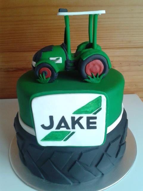 Fendt Tractor Tire Birthday Cake Boys Birthday Cake Traktor Torte Tortendeko Fendt Traktor