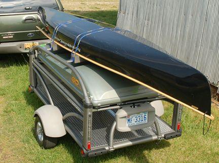 Canoe Trailer Sylvansport Go Canoe Trailer Canoe