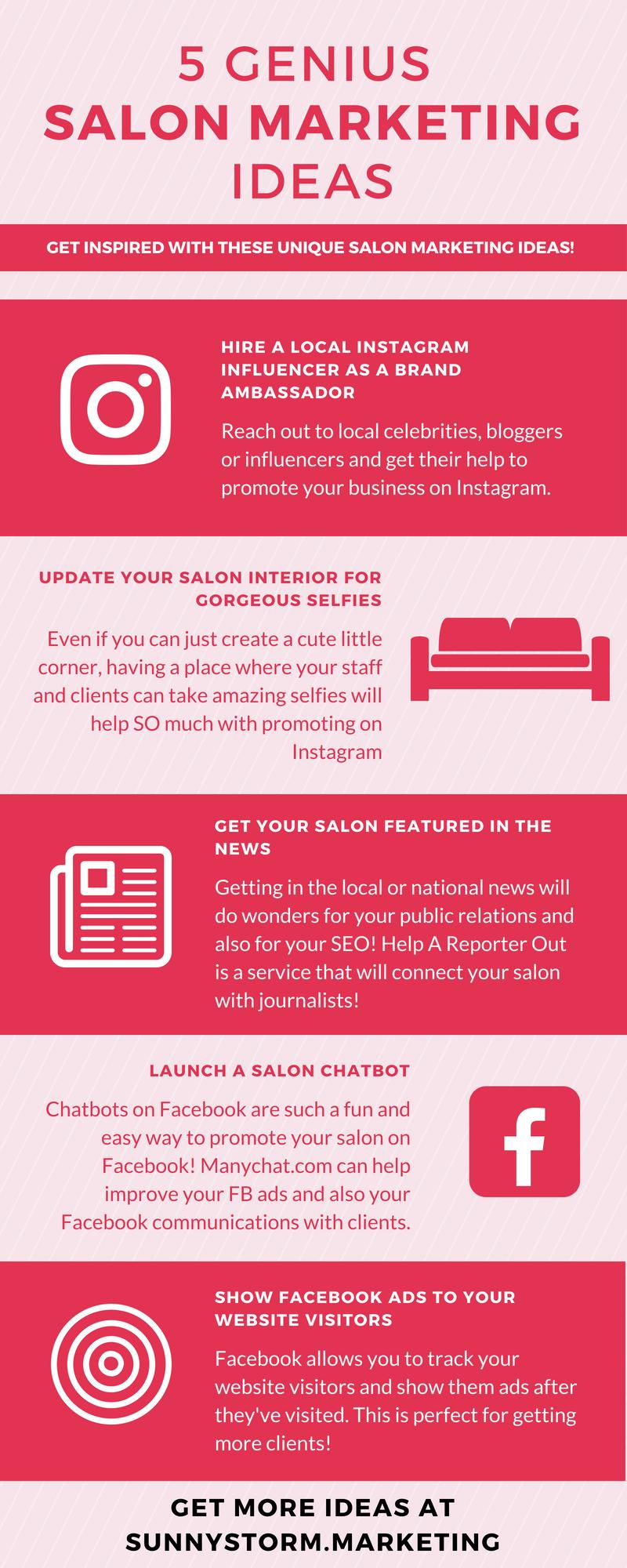 19 Genius Salon Marketing Ideas: Get ideas for promoting your salon