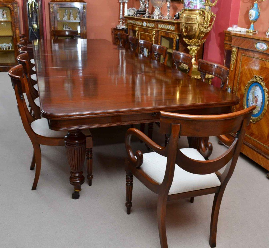 Victorian Dining Room Antique Table And