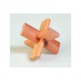 Onwijs Houten Puzzel Kruis, merk Goki Probeer met de houten stukjes een IP-67