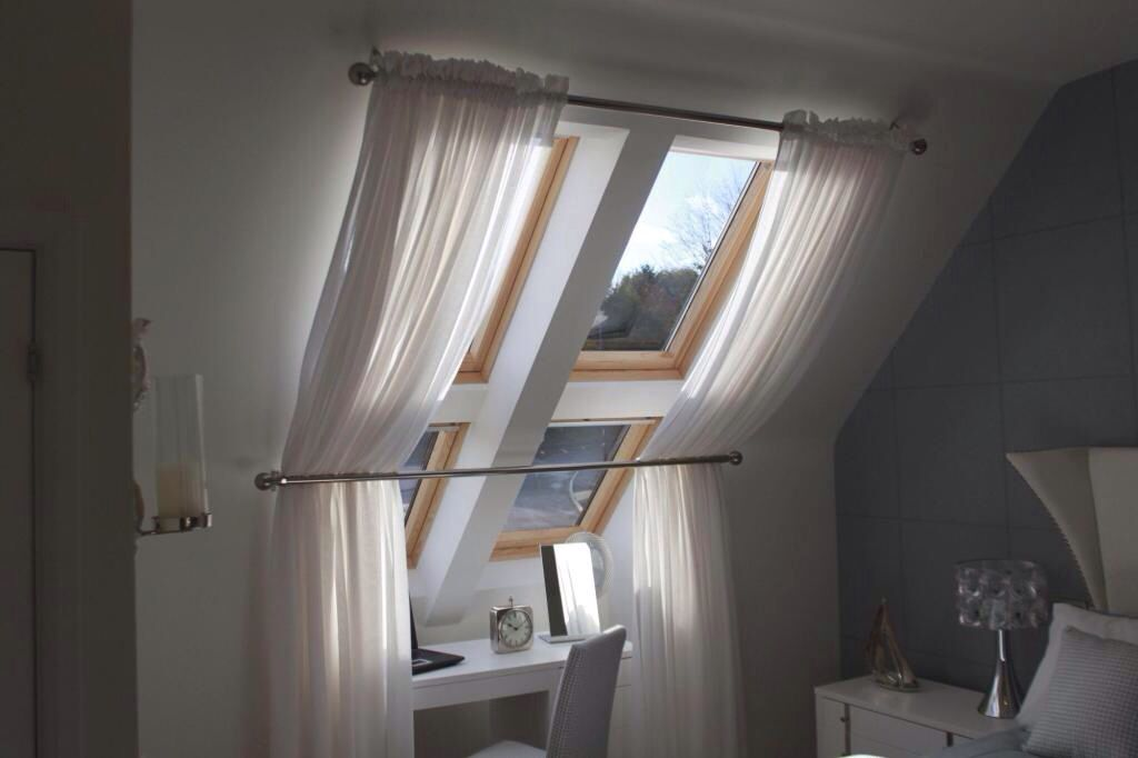 Window dressing for velux windows this is what I had in