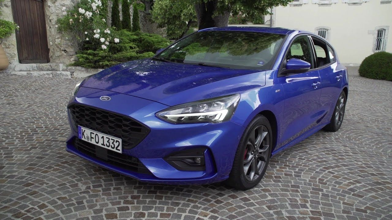 2019 Ford Focus St Line Interior Exterior And Drive Ford Focus