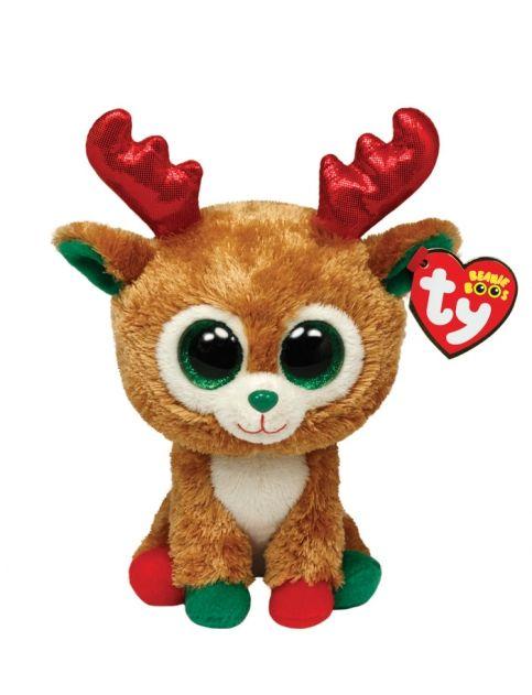 Reindeer 6 Inch Beanie Boo  8f0d5ebcbbdb