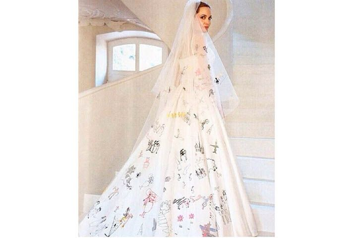 Dress angelina jolie wedding