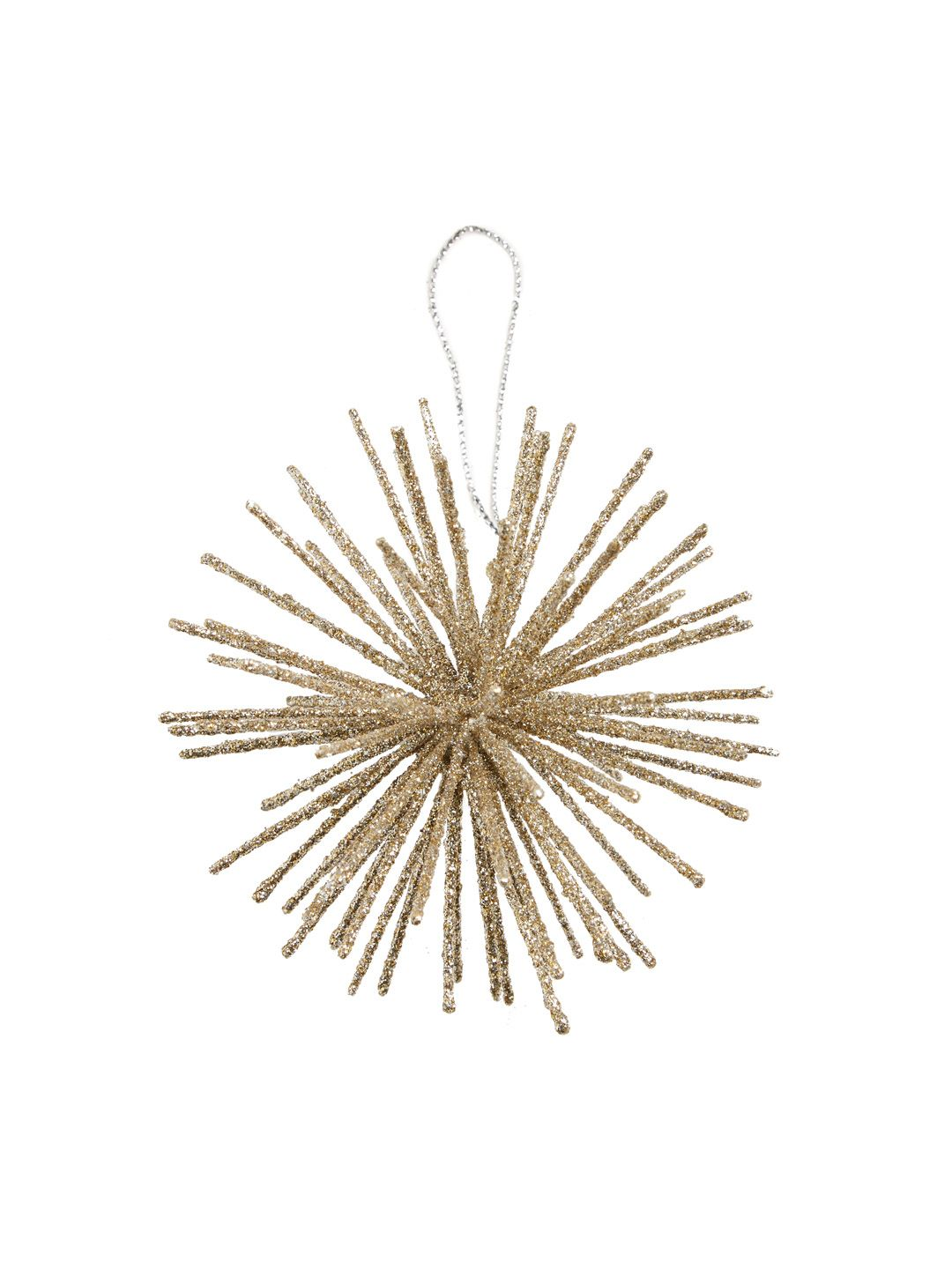 Small Starburst Ball Ornament by Gilt Home Collection $4 | Christmas ...