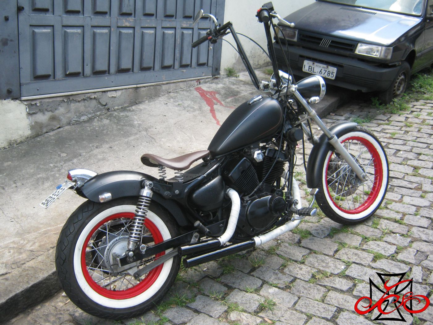 bobber yamaha virago 250 jhc joe hot choppers motor. Black Bedroom Furniture Sets. Home Design Ideas