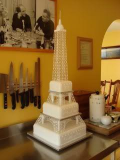 eiffel tower wedding cake - Google Search | A Decadent Taste ...