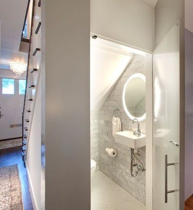 Adding A Bathroom Beneath The Stairs Means Adding Pure Functionality To  Your Home Without Sacrificing Anything