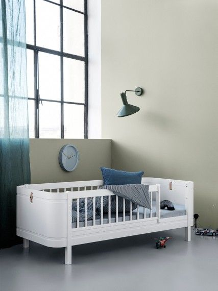 Lovely Wood Mini Cot Bed Set 0 9 years in White by Oliver Furniture In 2018 - Simple Elegant baby bedroom set Review