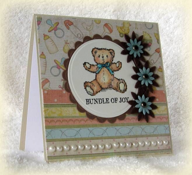 Welcome Baby Boy by swldebbie - Cards and Paper Crafts at Splitcoaststampers