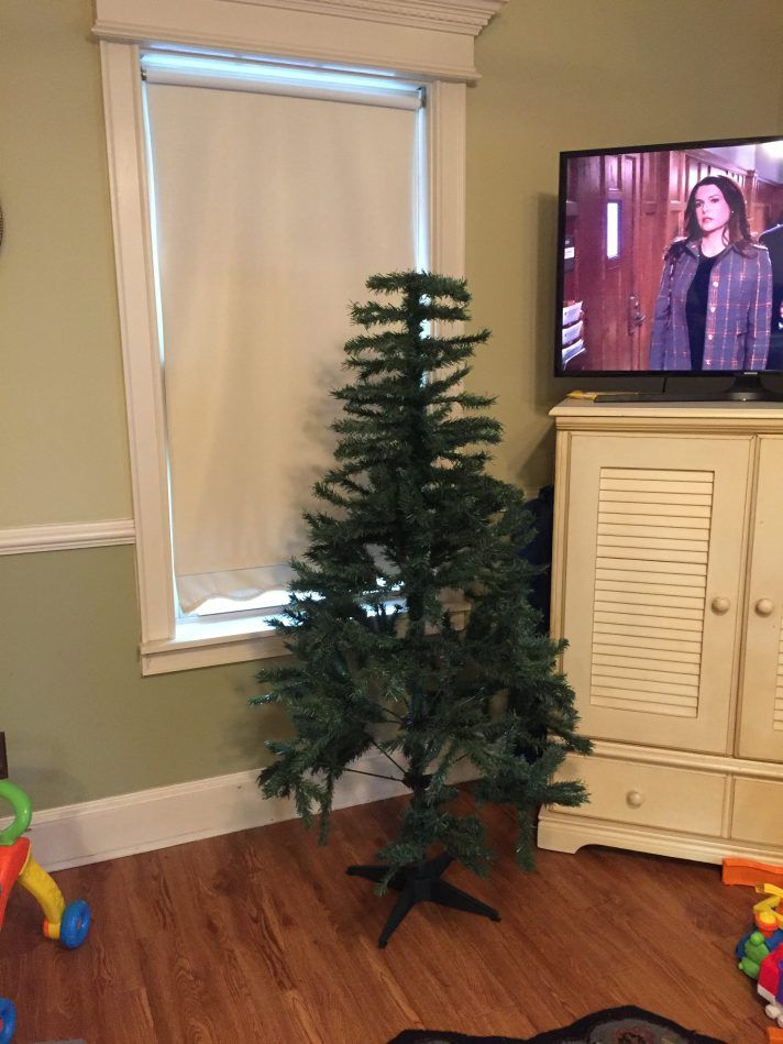 An inexpensive artificial Christmas tree | Realm of Regan ...