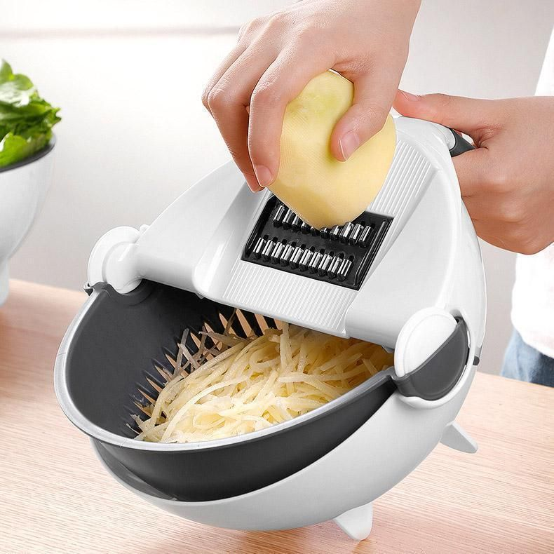 Smart Chopping And Strainer Bowl Vegetable Cutter How To Wash Vegetables Fruit And Vegetable Storage