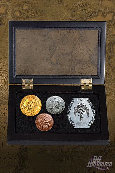 World Of Warcraft Horde Collectible Coin Set World Of Warcraft Warcraft Coin Collecting