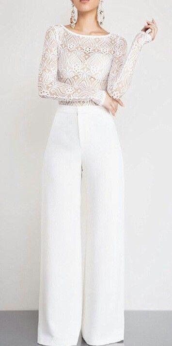 b8b9f97fa7c White mesh lace bodysuit Body Suit Outfits
