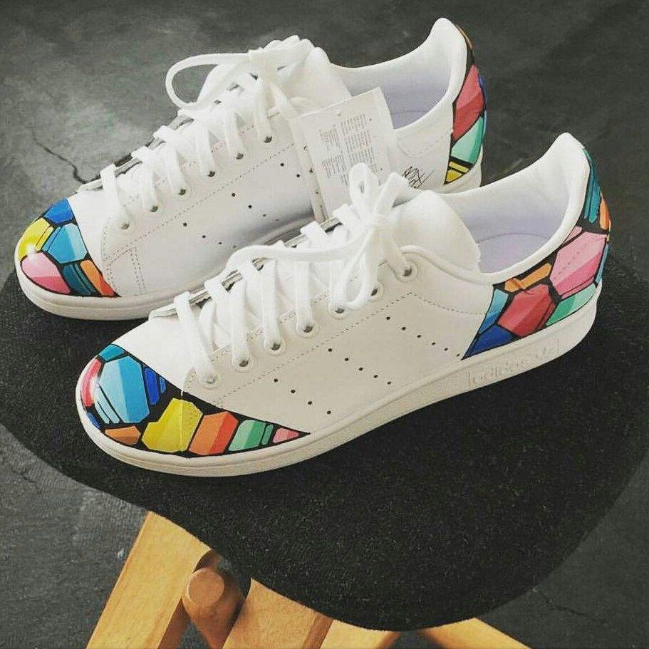 customize adidas sneakers