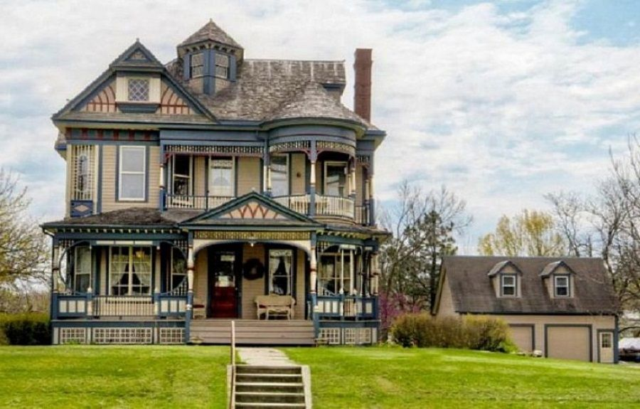 Gothic Victorian House Alluring Old Design