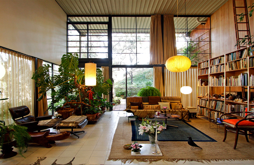 Eames Up Your Living Room Eames house interior, Eames