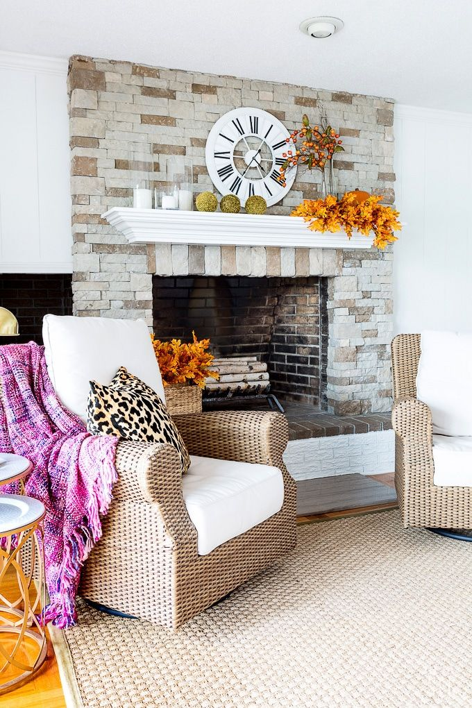 Fall Home Tour: Autumn Home Decorating Inspiration And Ideas On A Budget