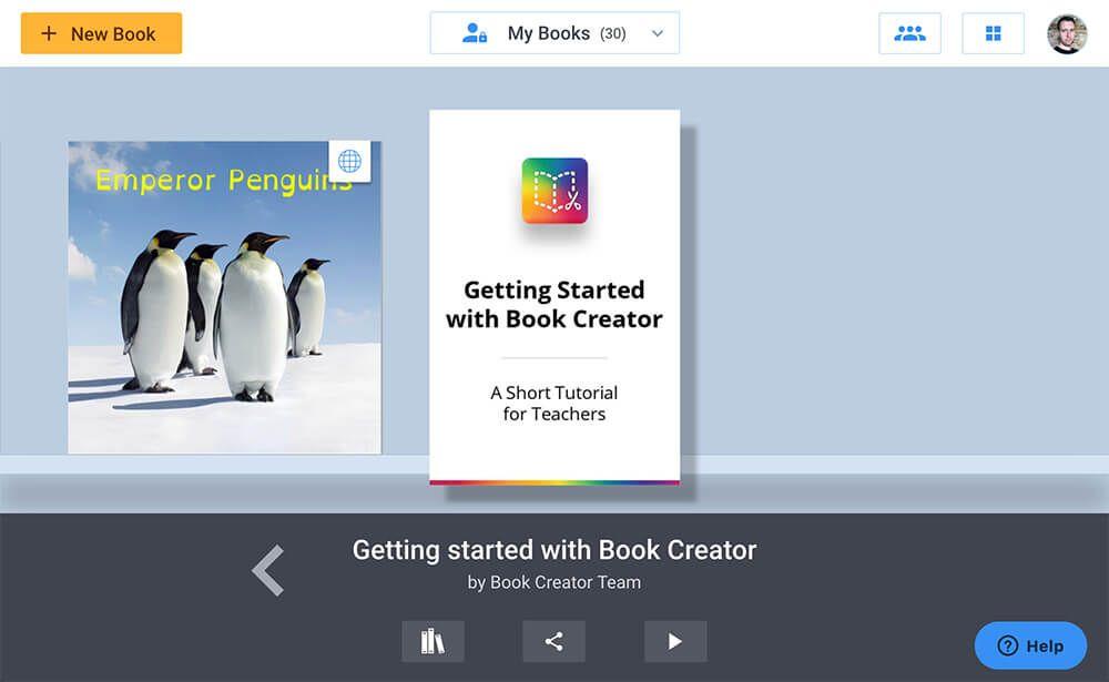 Book Creator Logo