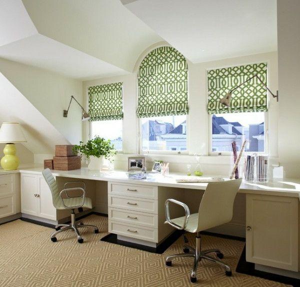 Beautiful Ideen Für Heimbüro   Wie Bringt Man Sommerliche Inspiration Ins Home Office    Http://wohnideenn.de/home Office/07/ideen Fur Heimburo.html #HomeOffice
