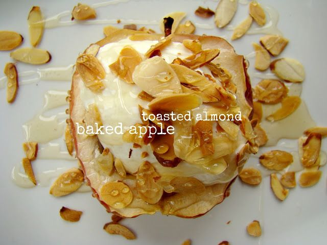 Family Feedbag: Toasted almond baked apple