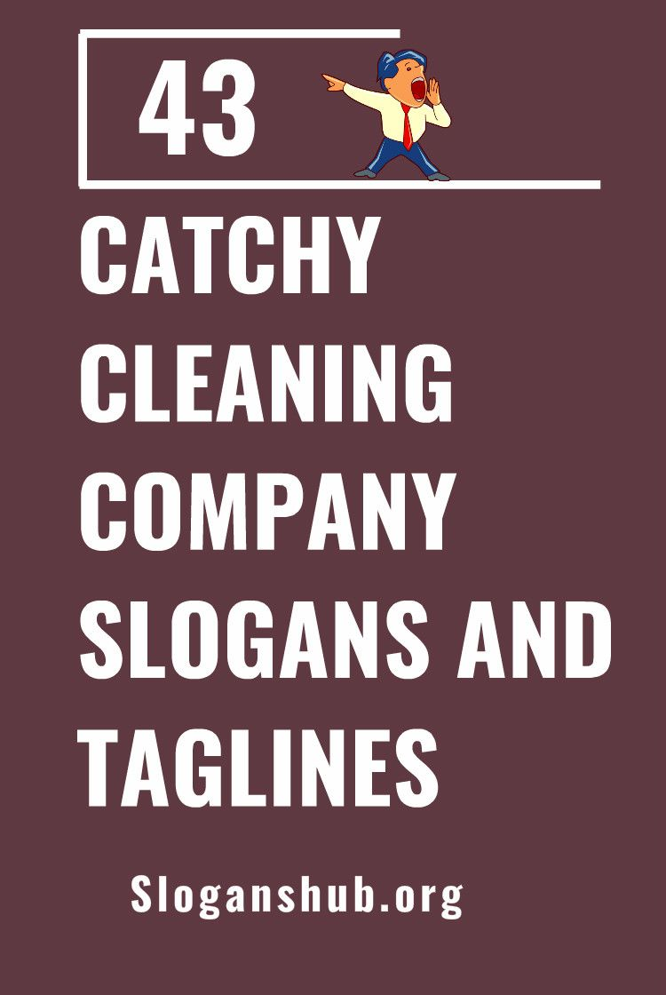 43 Catchy Cleaning Company Slogans And Taglines Carpet Cleaning