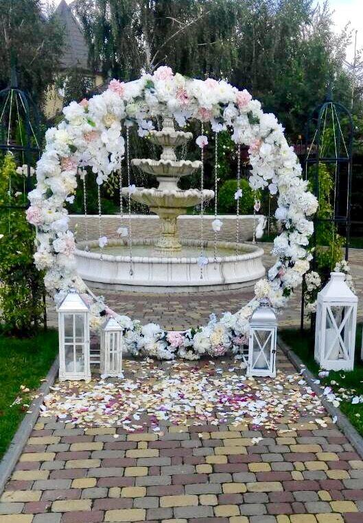 Круглая арка, арка кольцо  stardecor   Выездная церемония   Wedding ... 3fe4afc5a10