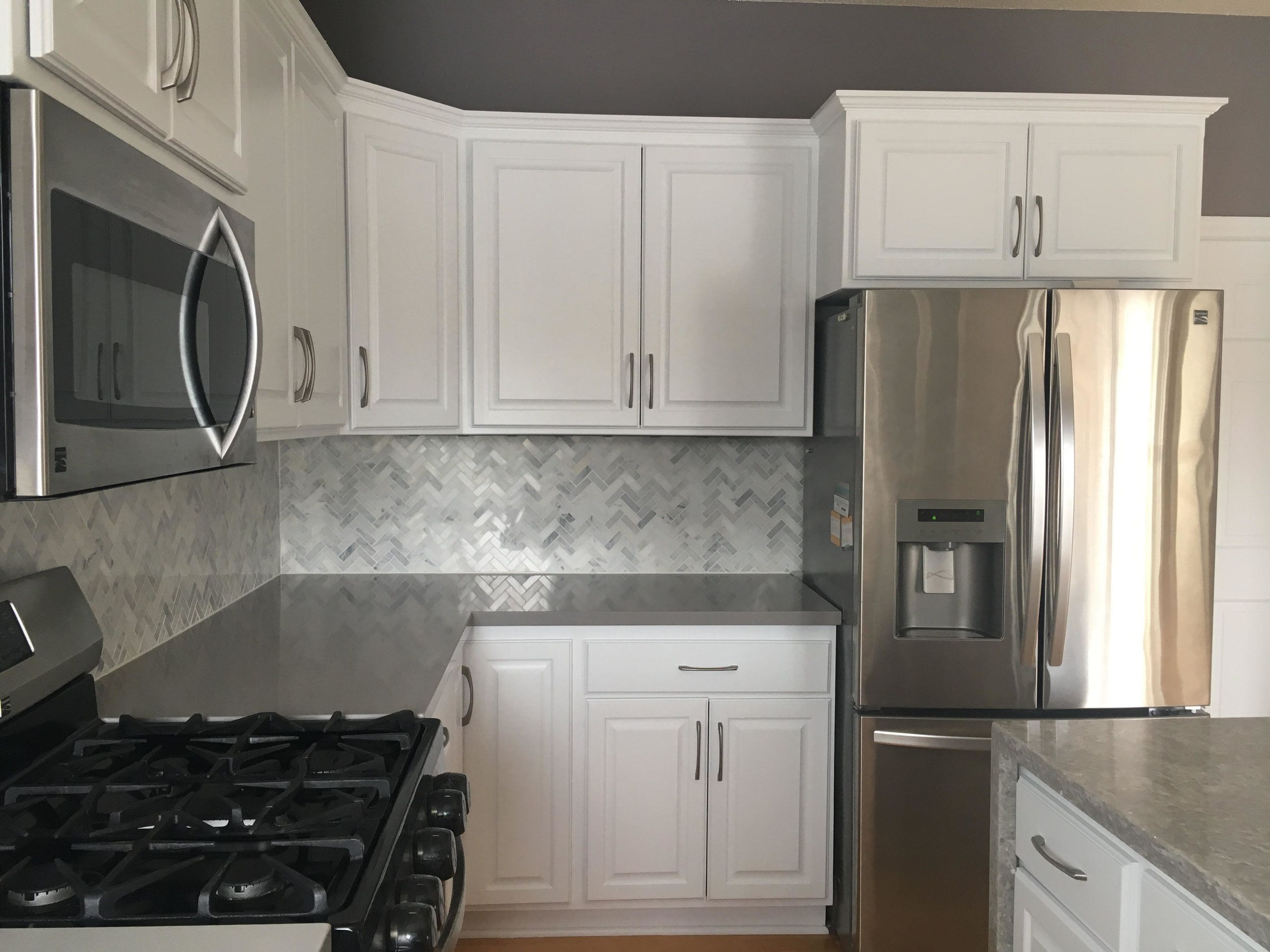 Kitchen Cabinet Refacing Project Maple Grove Mn Refacing Kitchen Cabinets Refinishing Cabinets Cabinet Refacing