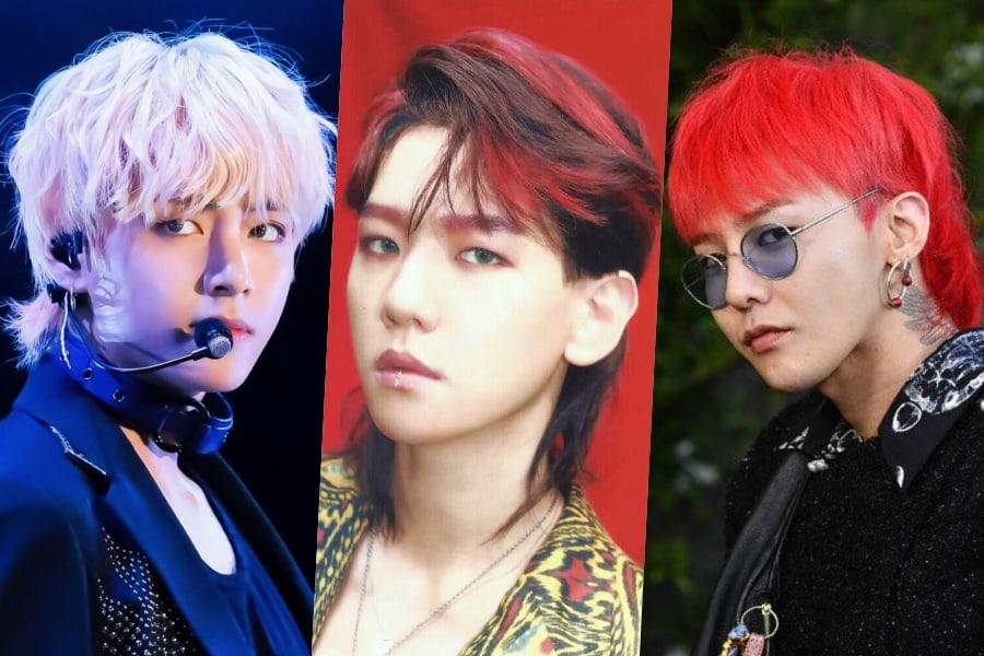 K Pop Fashion Trends That Fans Dislike Mullet Hairstyle Flower Child Hair Mullets