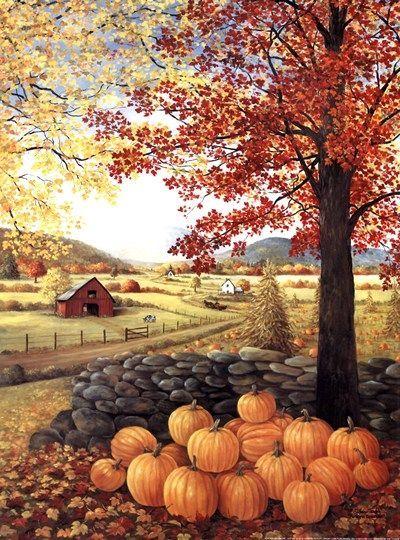 Autumn Splendor by Glynda Turley #autumnscenes