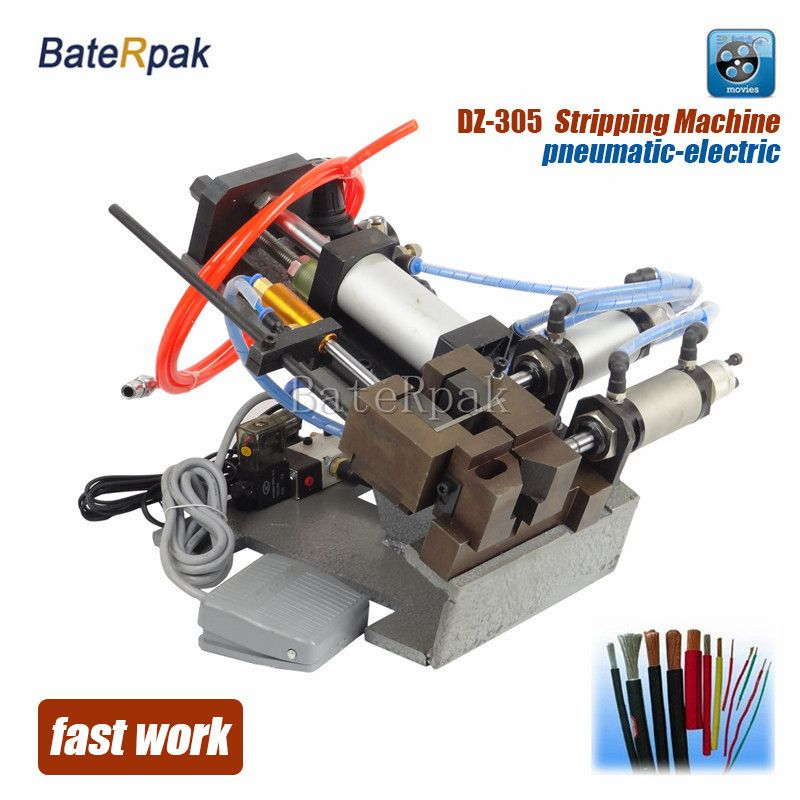DZ305 BateRpak Pneumatic cable stripping machine,wire