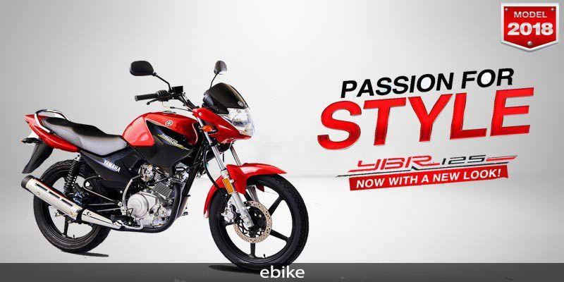 Yamaha Ybr 125 2018 Ebike Bike Details Motorcycle