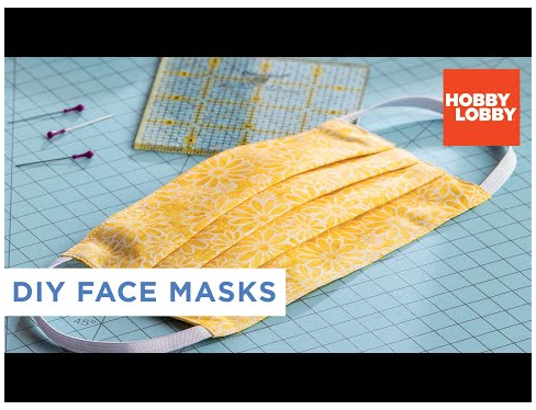 DIY Fabric Face Mask Hobby Lobby® directions for