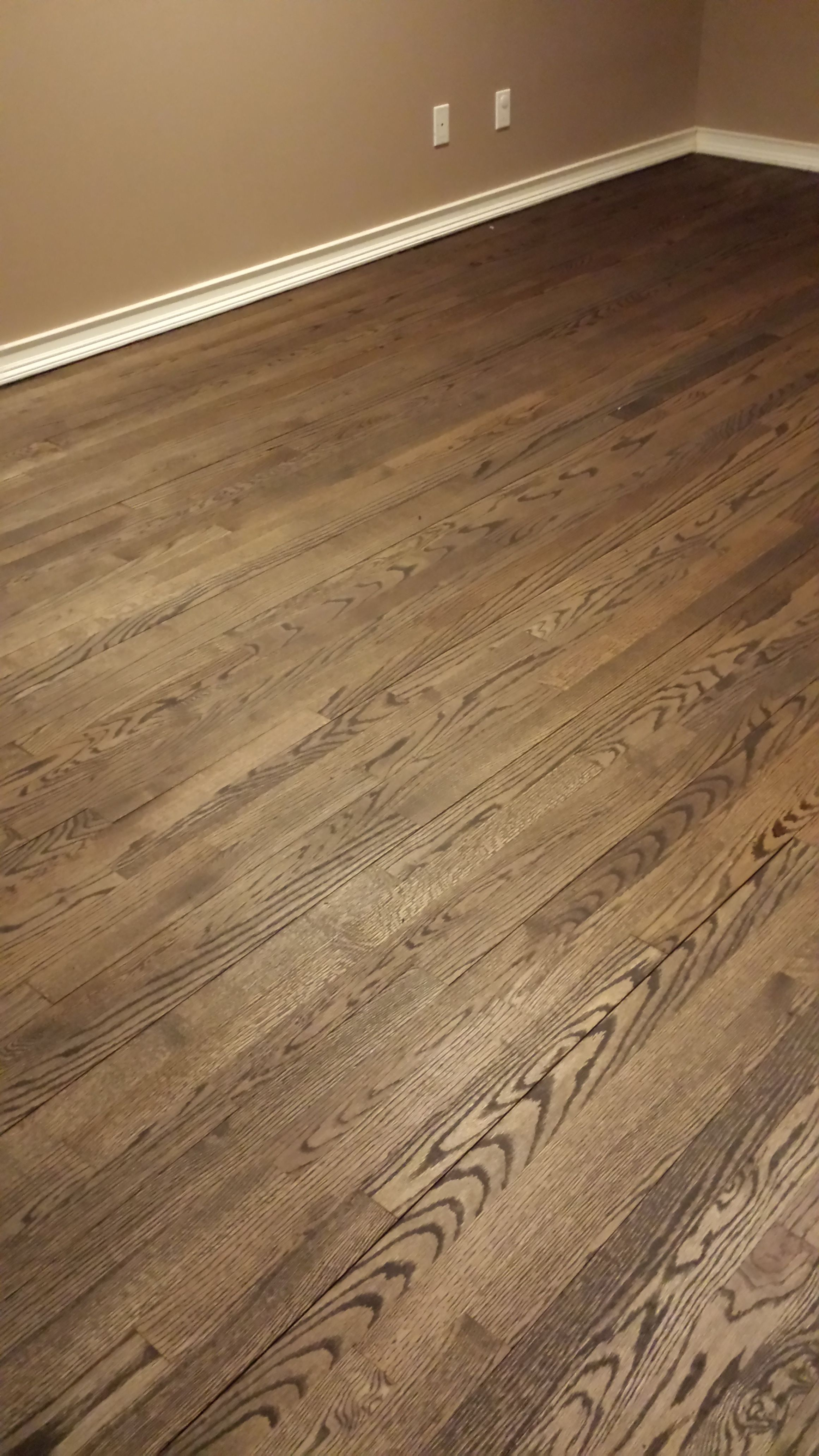 Minwax jacobean hardwood floor stain one coat prepoly more
