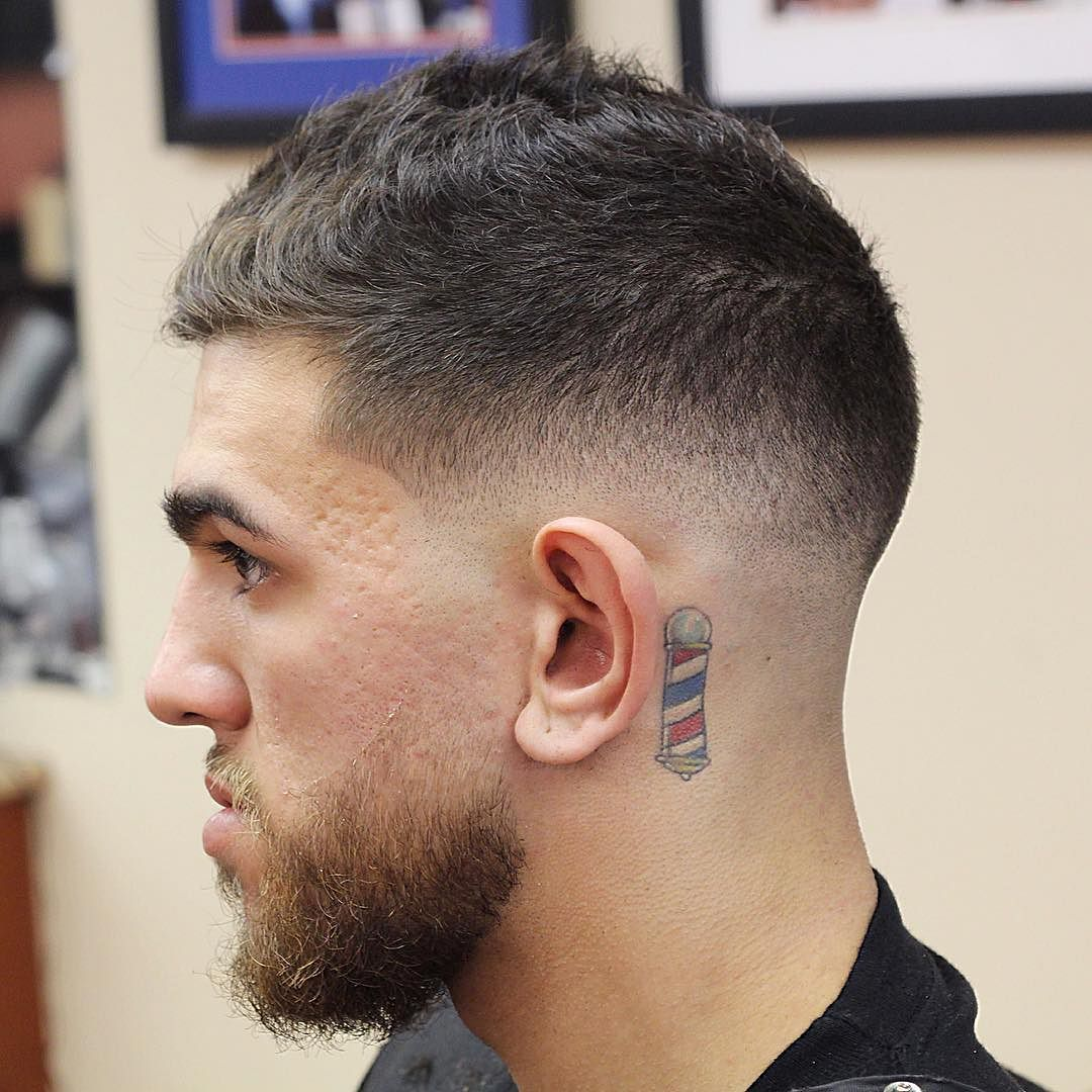 Short haircuts for men with beards  short hairstyles for men  hair  pinterest  low fade mens hair