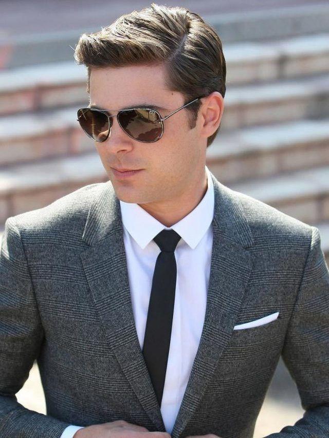 22 Männerfrisuren mit Brille, um cool und stylish aussehen