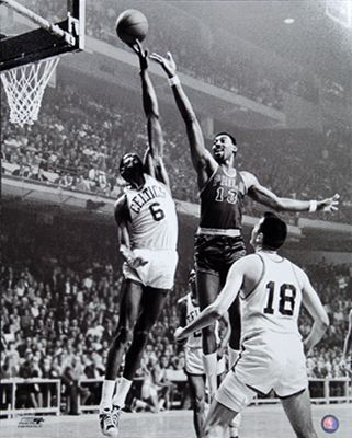 Wilt Chamberlain Vs Bill Russell Vintage Classic Poster Print Boston Celtics Vs Philadelphia 76er Bill Russell Sports Sports Photos