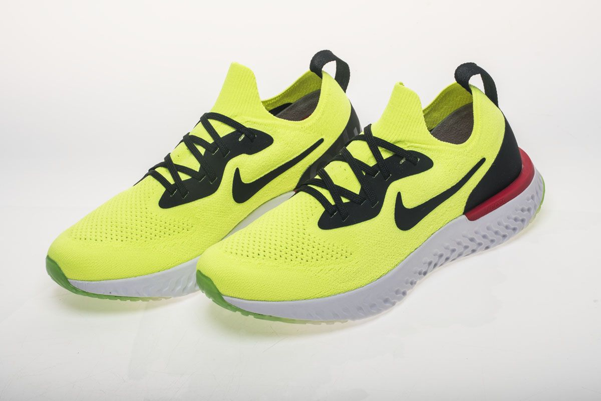 42bb893409fb5 Nike Epic React Flyknit AQ0067-103 Yellow Shoes6