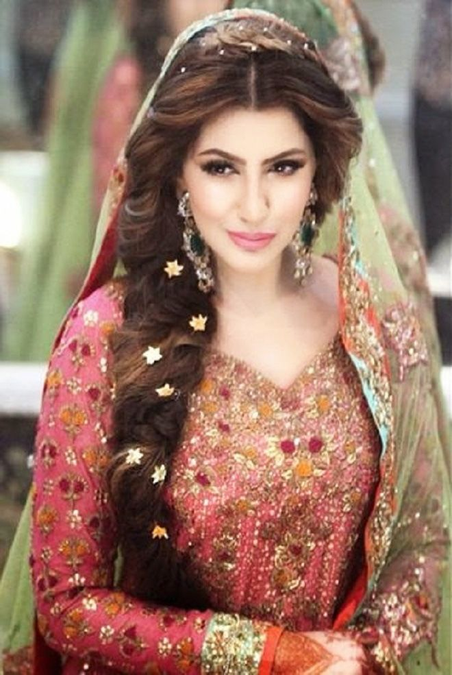 Best Indian Wedding Hairstyles For Brides 2016 2017 Beststylo