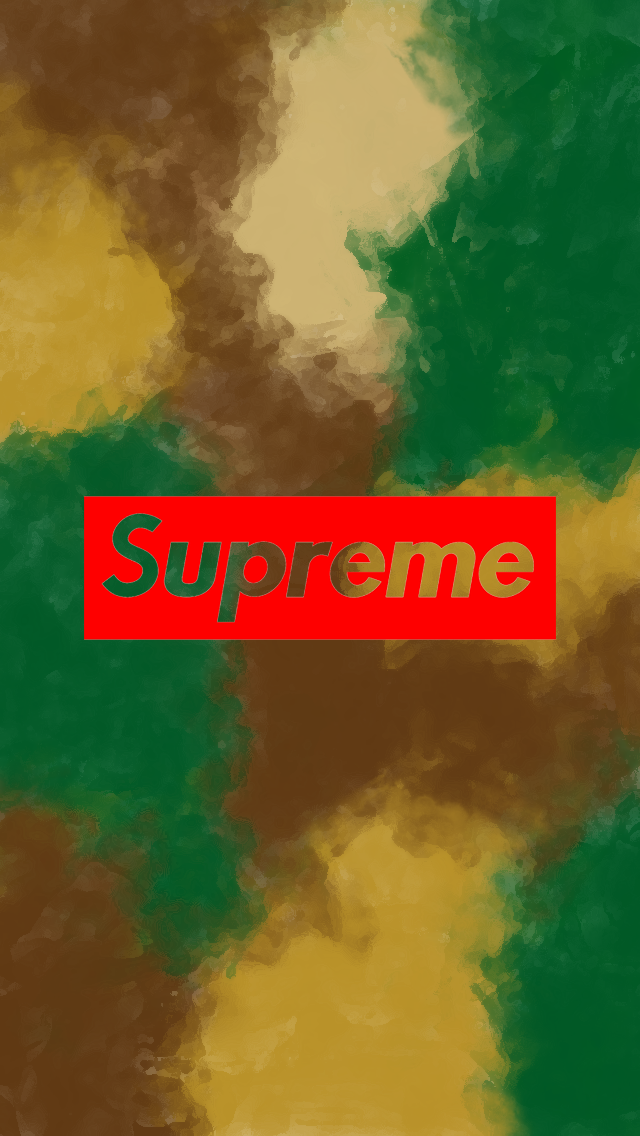 Supreme Watercolor Camouflage Wallpaper Iphone 5 By Joey Donaldson 2016 Supreme Iphone Wallpaper Camouflage Wallpaper Iphone Wallpaper