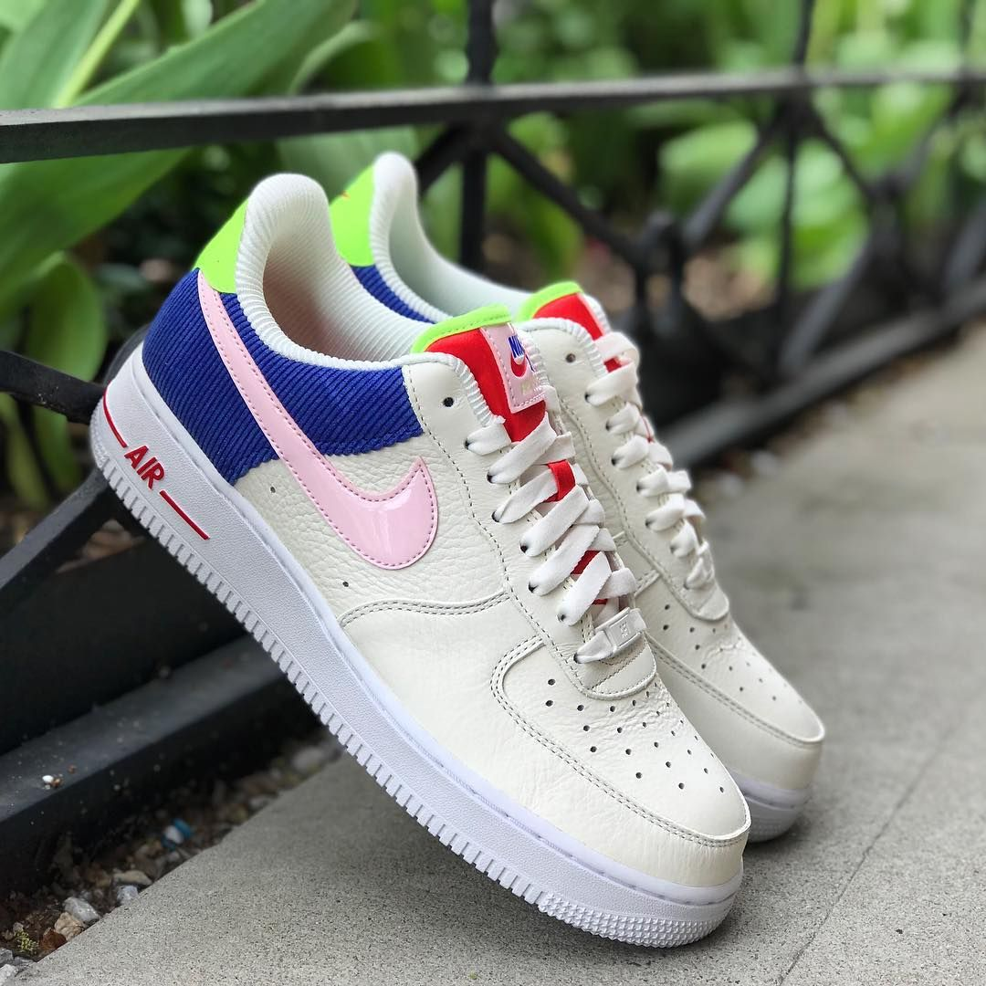 Nike S Colorful Corduroy Sneakers Are Available Now Womens Shoes Wedges Nike Fresh Shoes