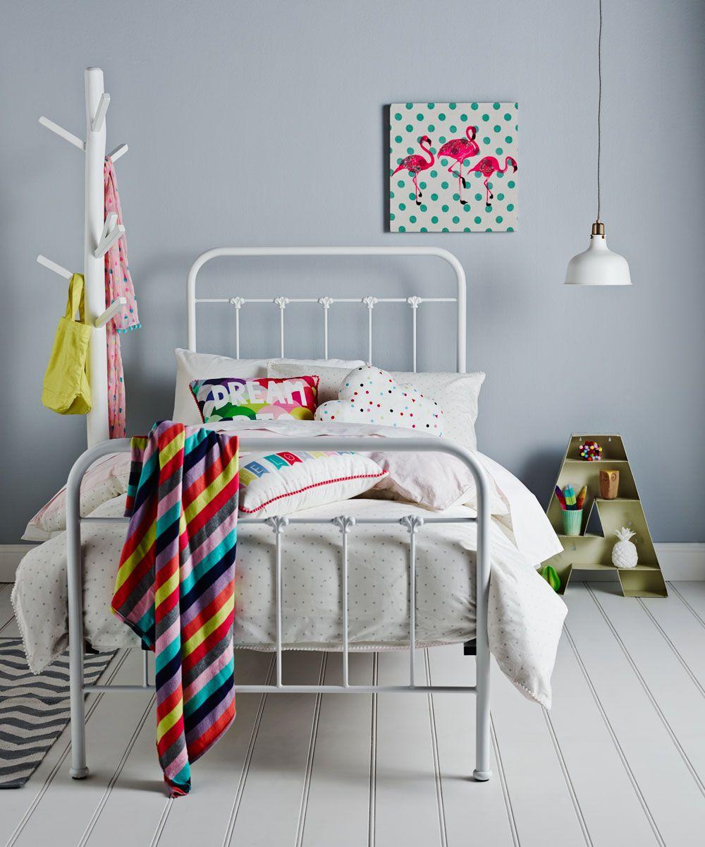 Adairs Kids Annabel Iron Bed White Iron Bed White Home Decor