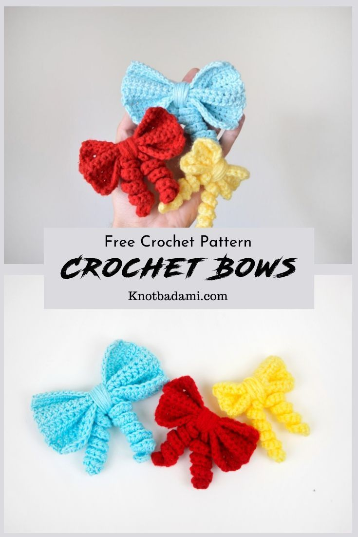 How to Create Your Own Crochet Bow! - Knot Bad