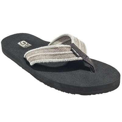 3402af6e054cb5 Teva Sandals  Men s 1004890 Dune Tan Mush II Canvas Flip Flop Sandals