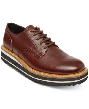 c3de1bbf1ab STEVE MADDEN SELF MADE BY STEVE MADDEN MEN S SUFRAGET LEATHER PLATFORM  OXFORDS MEN S SHOES.  stevemadden  shoes