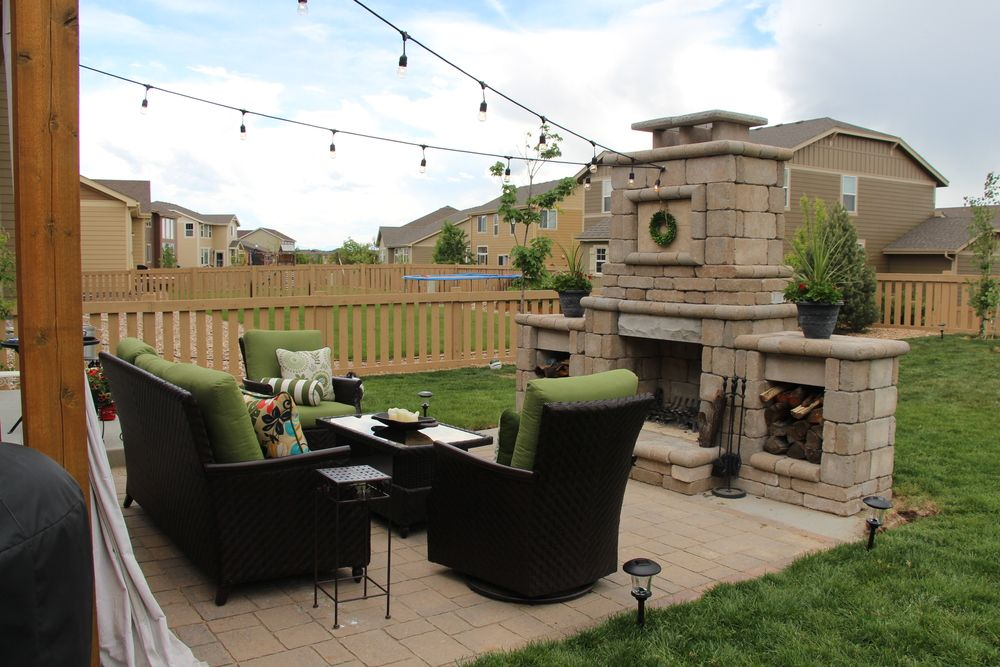 DIY Outdoor Fireplace | Diy outdoor fireplace, Costco ... on Costco Outdoor Fireplace id=41888